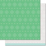 Lawn Fawn - Knit Picky Collection - 12 x 12 Double Sided Paper - Winter Shawl