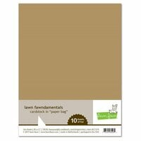 Lawn Fawn - 8.5 x 11 Cardstock - Paper Bag - 10 Pack