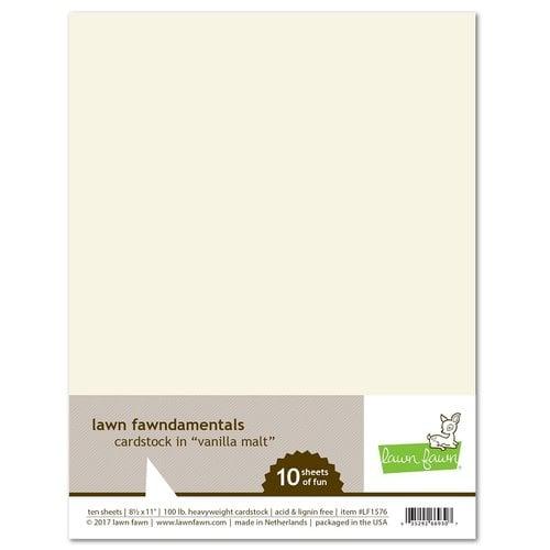 Lawn Fawn Vanilla Malt Cardstock