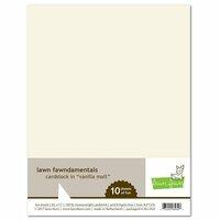 Lawn Fawn - 8.5 x 11 Cardstock - Vanilla Malt - 10 Pack
