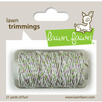 Lawn Fawn - Lawn Trimmings - Bakers Twine Spool - Meadow Sparkle Cord
