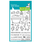Lawn Fawn - Clear Photopolymer Stamps - Rub-A-Dub-Dub