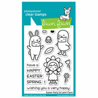 Lawn Fawn - Clear Photopolymer Stamps - Easter Party