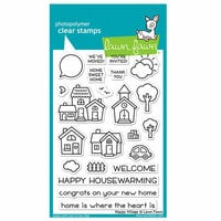 Lawn Fawn - Clear Photopolymer Stamps - Happy Village