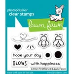 Lawn Fawn - Clear Photopolymer Stamps - Little Fireflies