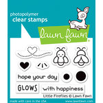 Lawn Fawn - Clear Acrylic Stamps - Little Fireflies