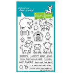 Lawn Fawn - Clear Photopolymer Stamps - Hay There