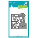 Lawn Fawn - Lawn Cuts - Dies - Tiny Gift Box Bunny Add-On