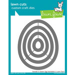 Lawn Fawn - Lawn Cuts - Dies - Outside In Easter Egg Stackables