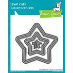 Lawn Fawn - Lawn Cuts - Dies - Stitched Star Frames