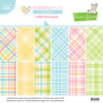 Lawn Fawn - Perfectly Plaid Collection - Spring - 12 x 12 Collection Pack