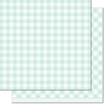 Lawn Fawn - Gotta Have Gingham Collection - 12 x 12 Double Sided Paper - Elsie