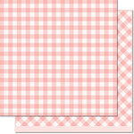 Lawn Fawn - Gotta Have Gingham Collection - 12 x 12 Double Sided Paper - Georgia