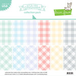Lawn Fawn - Gotta Have Gingham Collection - 12 x 12 Collection Pack