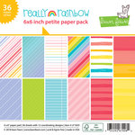 Lawn Fawn - Really Rainbow Collection - 6 x 6 Petite Paper Pack