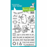 Lawn Fawn - Clear Photopolymer Stamps - Critter Concert
