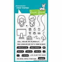 Lawn Fawn - Clear Photopolymer Stamps - Screen Time