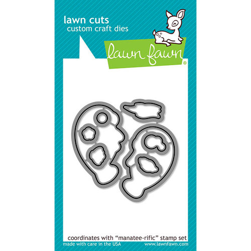 Lawn Fawn - Lawn Cuts - Dies - Manatee-rific