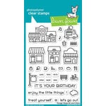 Lawn Fawn - Clear Acrylic Stamps - Village Shops