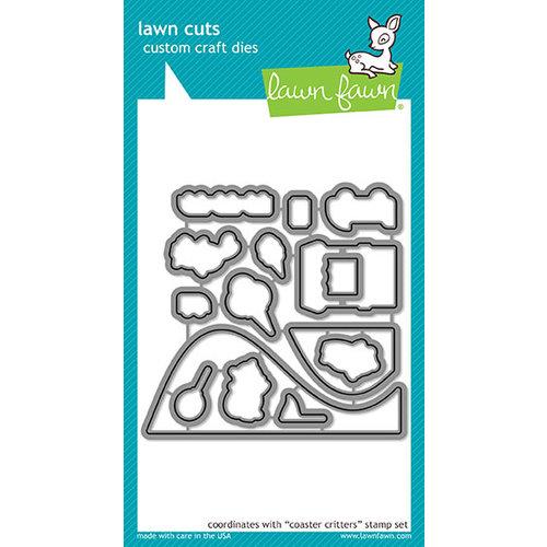 Lawn Fawn - Lawn Cuts - Dies - Coaster Critters