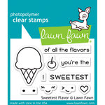 Lawn Fawn - Clear Acrylic Stamps - Sweetest Flavor