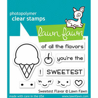 Lawn Fawn - Clear Photopolymer Stamps - Sweetest Flavor
