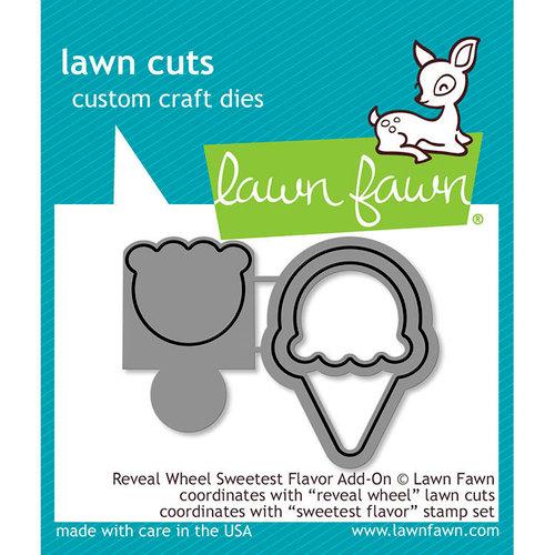 Lawn Fawn - Lawn Cuts - Dies - Reveal Wheel Sweetest Flavor Add-On