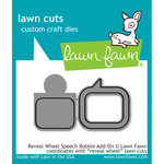 Lawn Fawn - Lawn Cuts - Dies - Reveal Wheel Speech Bubble Add-On