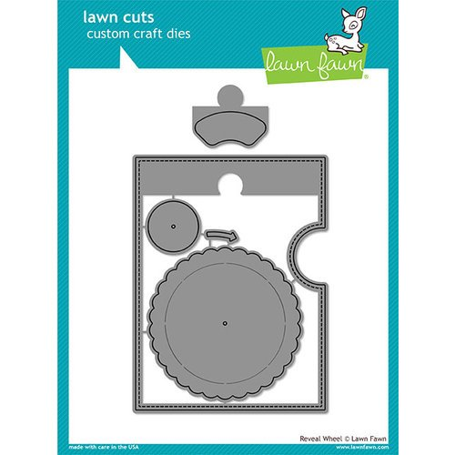 Lawn Fawn - Lawn Cuts - Dies - Reveal Wheel