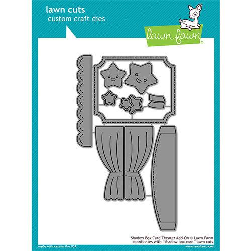 Lawn Fawn - Lawn Cuts - Dies - Shadow Box Card Theater Add-On