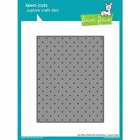 Lawn Fawn - Lawn Cuts - Dies - Itsy Bitsy Polka Dot Backdrop