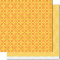 Lawn Fawn - Knit Picky Collection - Fall - 12 x 12 Double Sided Paper - Cozy Cardigan