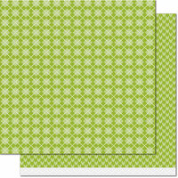 Lawn Fawn - Knit Picky Collection - Fall - 12 x 12 Double Sided Paper - Knee High Socks