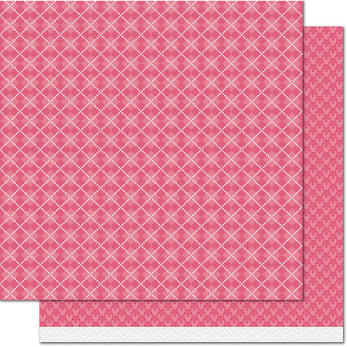 Lawn Fawn - Knit Picky Collection - Fall - 12 x 12 Double Sided Paper - Leg Warmers