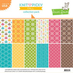 Lawn Fawn - Knit Picky Collection - Fall - 12 x 12 Collection Pack