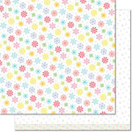 Lawn Fawn - Really Rainbow Collection - Christmas - 12 x 12 Double Sided Paper - White Christmas