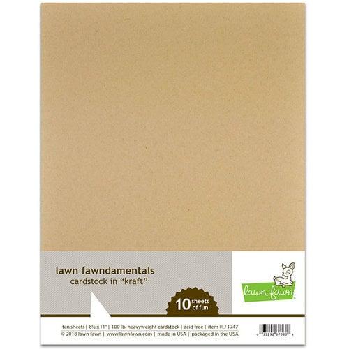 Lawn Fawn Kraft Paper