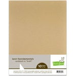 Lawn Fawn - 8.5 x 11 Cardstock - Kraft - 10 Pack