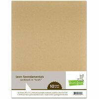 Lawn Fawn - 8.5 x 11 Cardstock - Kraft - 10 Pack