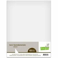 Lawn Fawn - 8.5 x 11 Vellum - 10 Pack