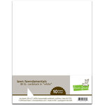 Lawn Fawn - 8.5 x 11 Cardstock - White - 10 Pack