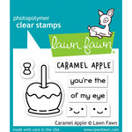 Lawn Fawn - Clear Photopolymer Stamps - Caramel Apple