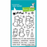 Lawn Fawn - Christmas - Clear Photopolymer Stamps - Winter Skies