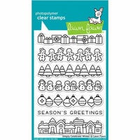 Lawn Fawn - Christmas - Clear Photopolymer Stamps - Simply Celebrate Winter