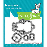 Lawn Fawn - Lawn Cuts - Dies - Charge Me Up