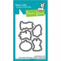 Lawn Fawn - Lawn Cuts - Dies - Say What - Christmas Critters