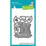 Lawn Fawn - Halloween - Lawn Cuts - Dies - Tiny Gift Box - Bat Add-On
