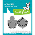 Lawn Fawn - Lawn Cuts - Dies - Reveal Wheel - Fall Leaf Add-On