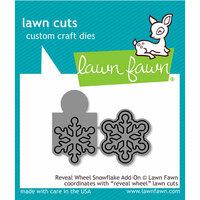 Lawn Fawn - Lawn Cuts - Dies - Reveal Wheel - Snowflake Add-On