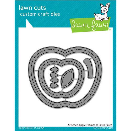 Lawn Fawn - Lawn Cuts - Dies - Stitched - Apple Frames